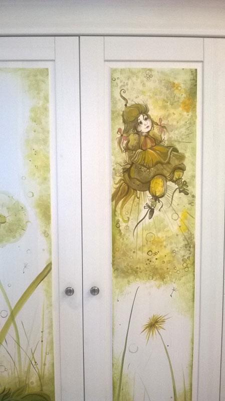 Роспись на шкафу 4