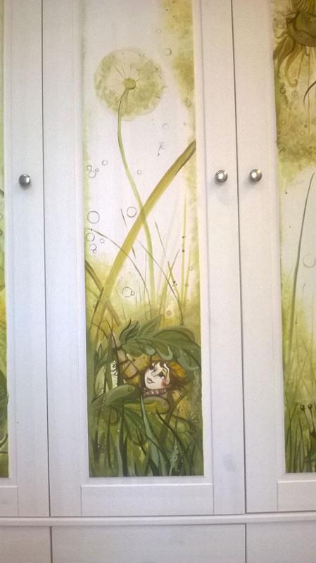 Роспись на шкафу 2