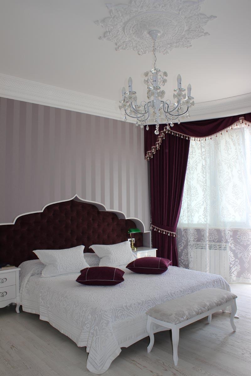 Спальня в Этно стиле Люстра
